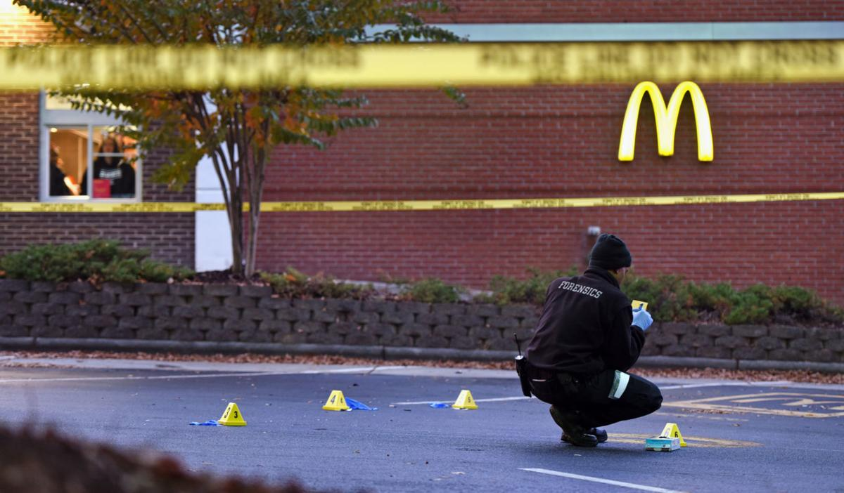MLK Blvd McDonalds shooting