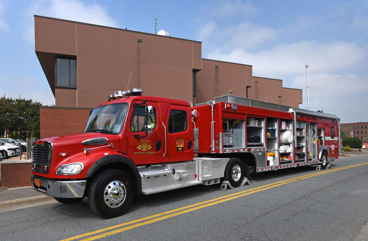 WSFD Hazmat vehicle