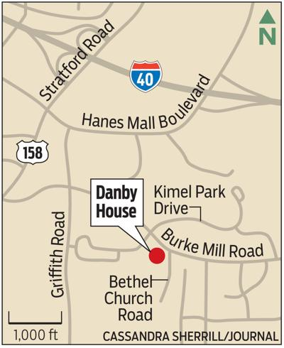 MAP: Danby House