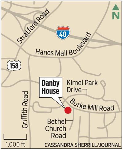 MAP: Danby House