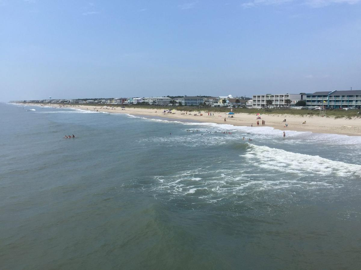 Sexton n c shark attacks a statistical anomaly scott for Kure beach fishing report
