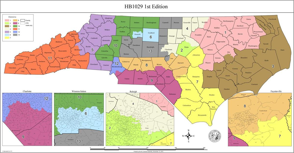 Judges give OK to congressional district maps. Candidates ...