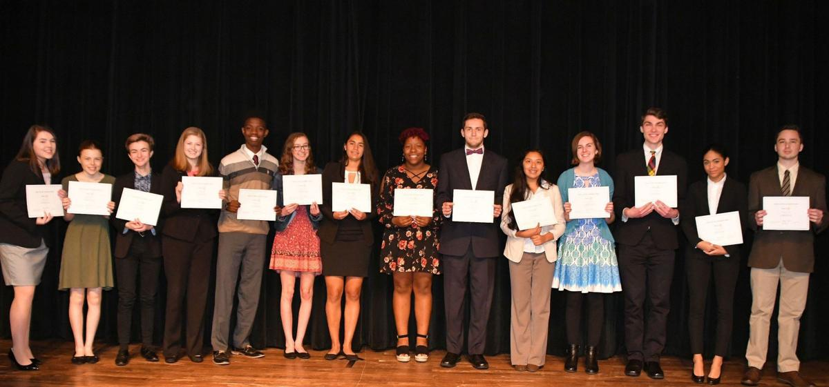 Rotary District 7690 Four Way Speech contest