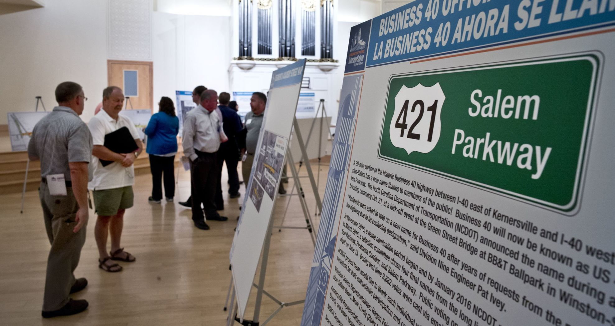 Last drop-in meeting on the closure of Business 40 is tonight   Winston Salem Journal