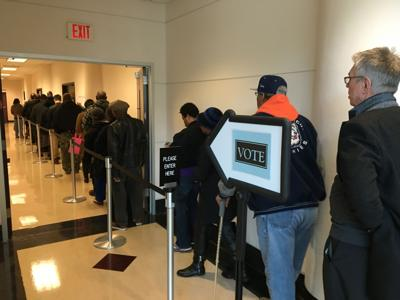 Early voting off to a smooth start in Forsyth County   Elections