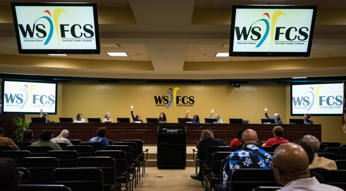 WSFCS Votes on New BOE Member Selection Process