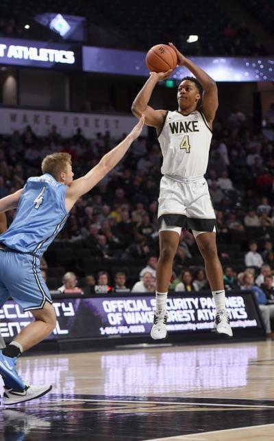 Columbia Wake Forest NCAA basketball