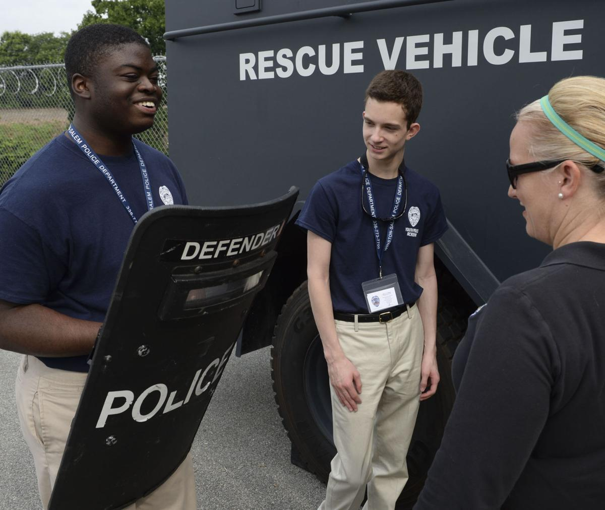 Youth police academy teaches Winston-Salem teens about