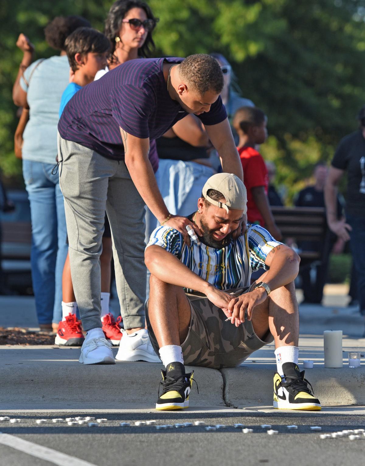 Julius Sampson vigil
