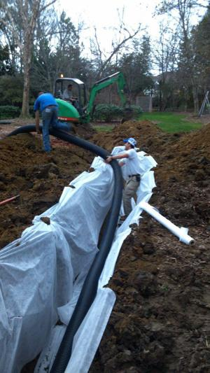 Diy Yard Water Problem Fixed With French Drain Winston