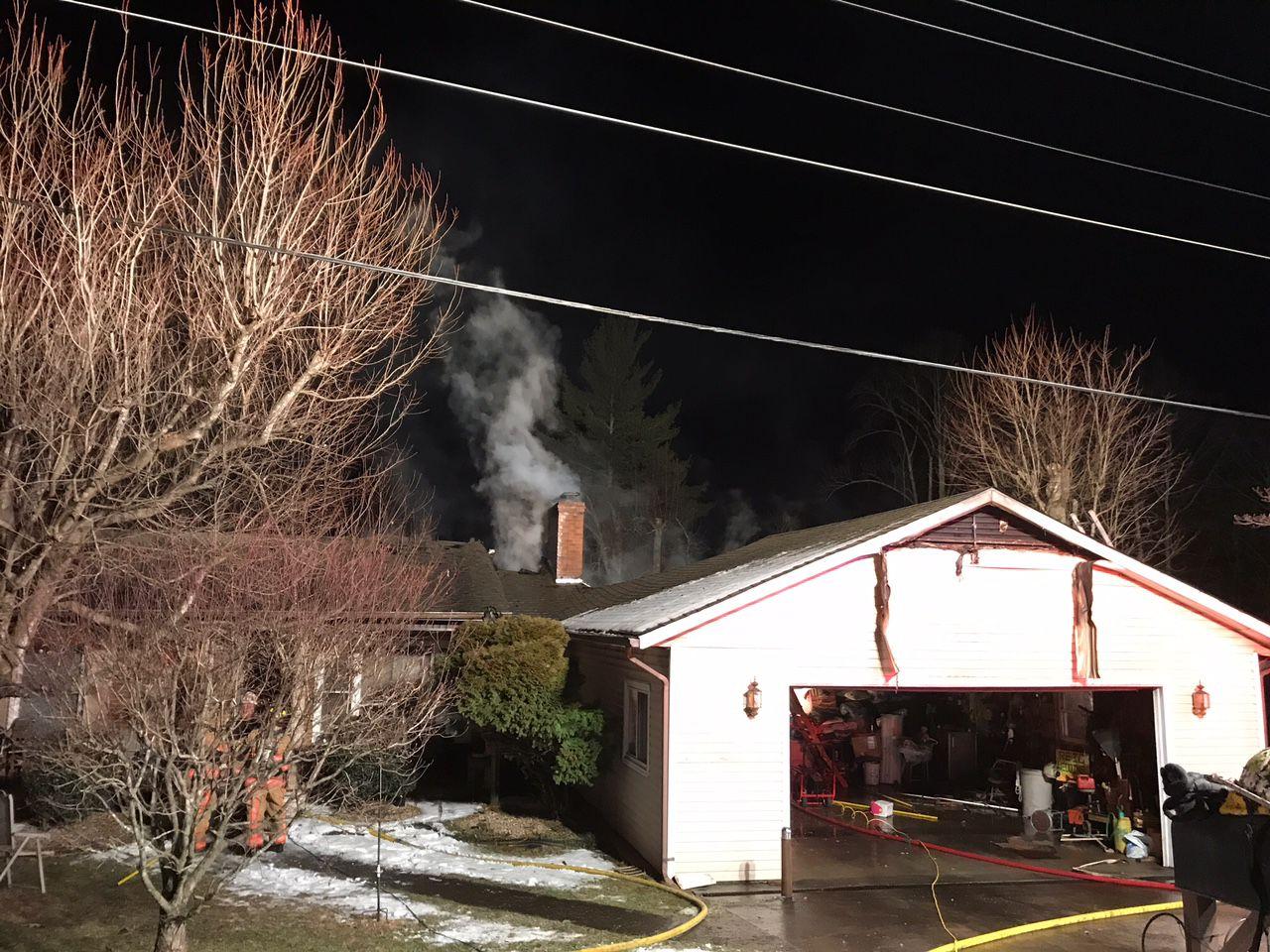 fire heavily damages home on pilgrim baptist church road friday rh journalpatriot com