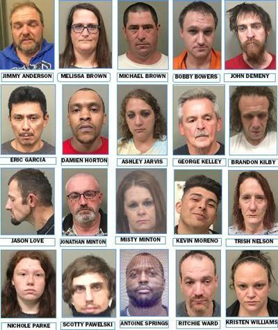 Latest Wilkes drug arrests