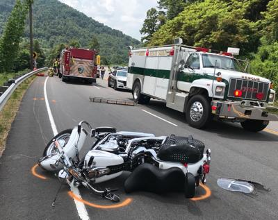 Man dies in motorcycle accident on N C  16 near Wilkes-Alexander