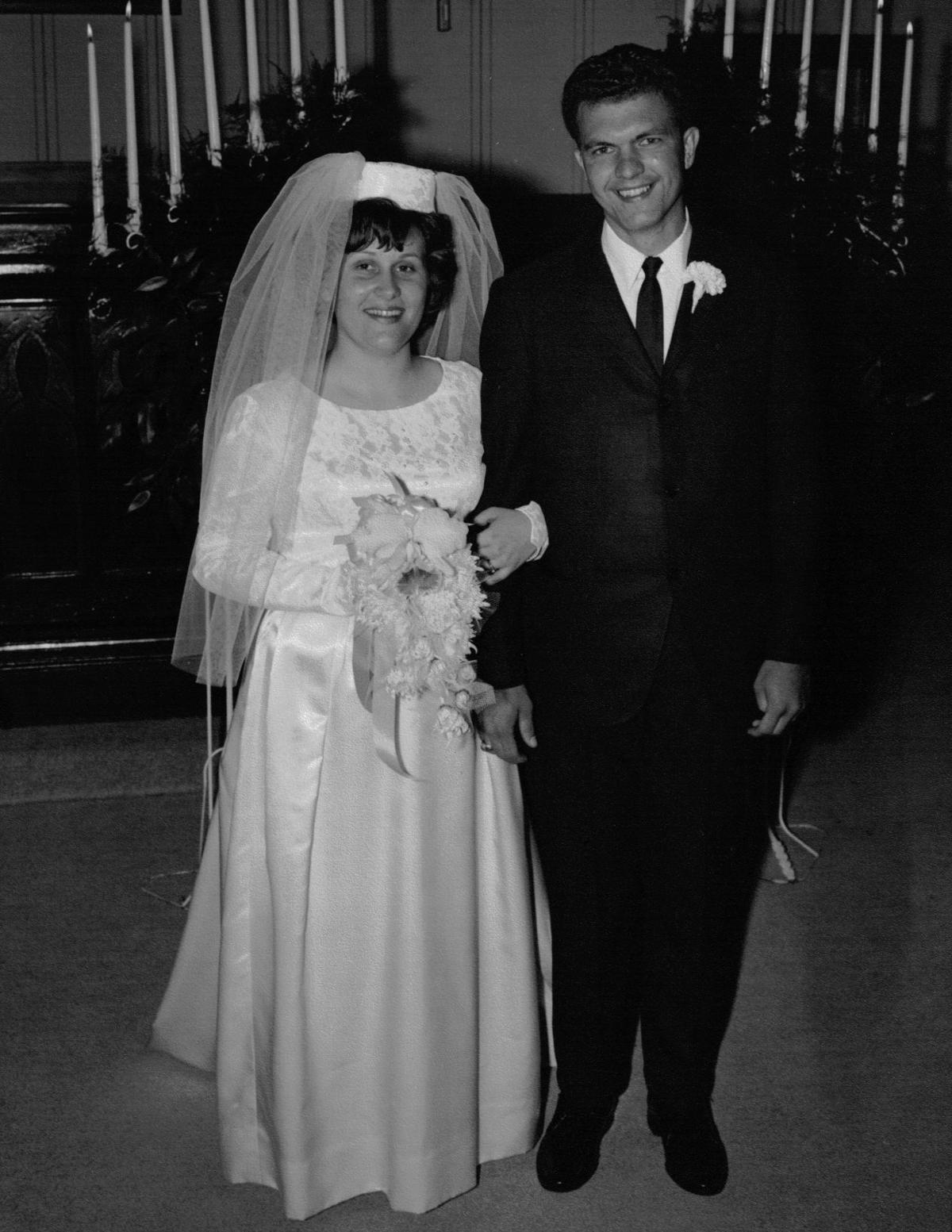 50 years ago........ DAVID AND WILMA ELMORE