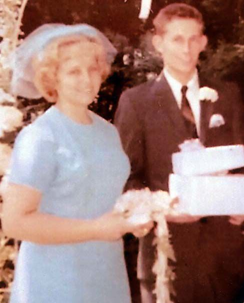 50 years ago... Manuel and Jill Brown