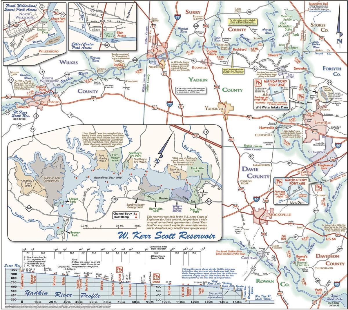 Warriors Path State Park Map: 5 Yadkin Paddlers Making Good Progress Despite Rain