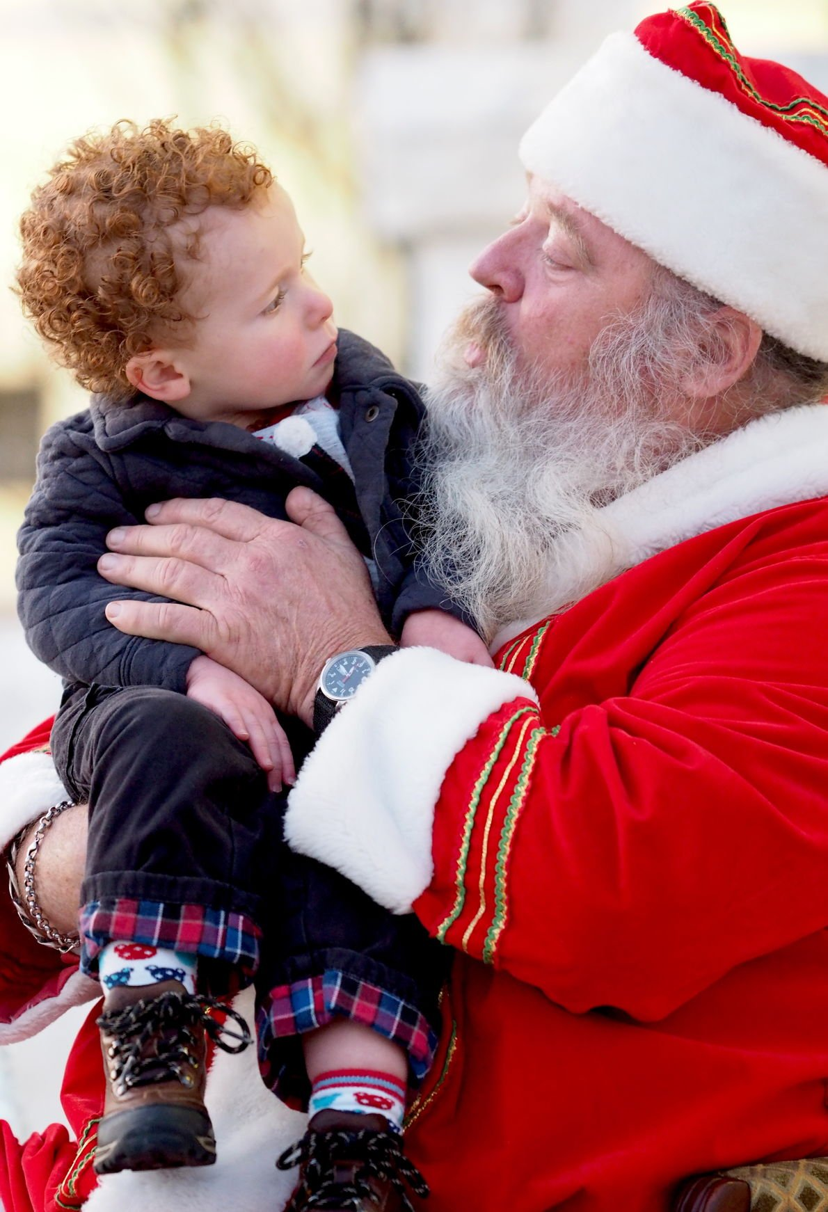 Sizing Up Santa