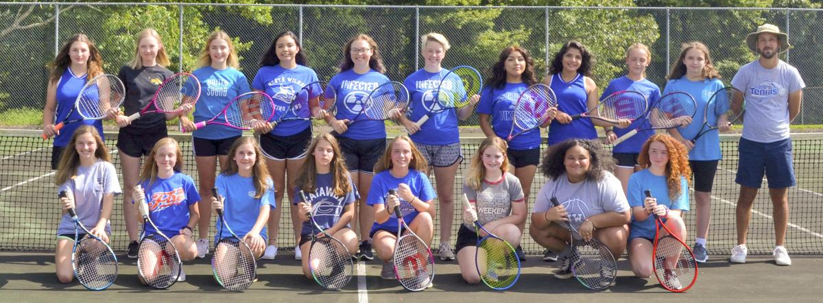 NW Team Photo Varsity Girls Tennis