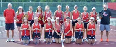EW Tennis team 2019