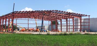 New Samaritan's Purse hangar