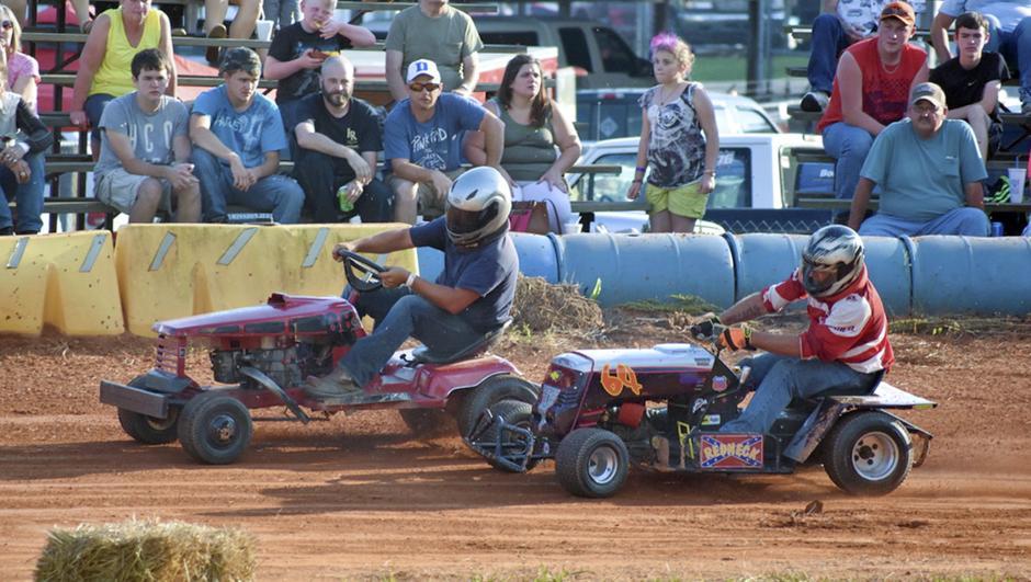 Lawn Mower Races Kick Off Memorial Day Weekend