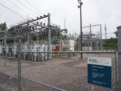 Browns Ford substation