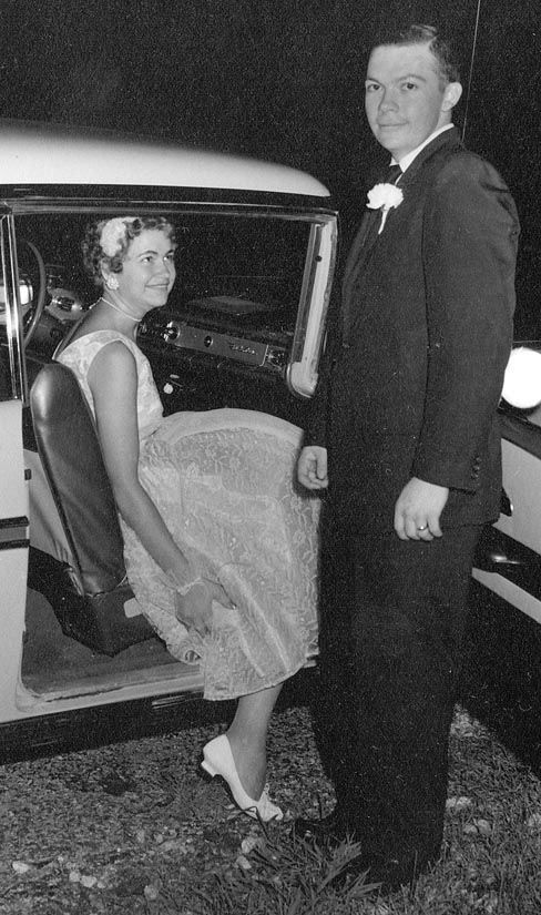 58 YEARS AGO...     KEN AND FAY BYRD