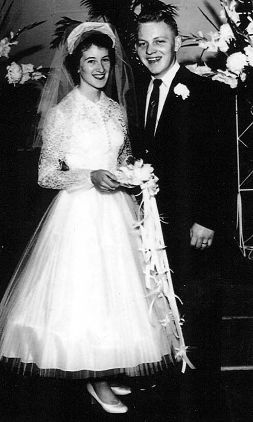 61 years ago....... DAVID AND CAROLYN DEARMAN