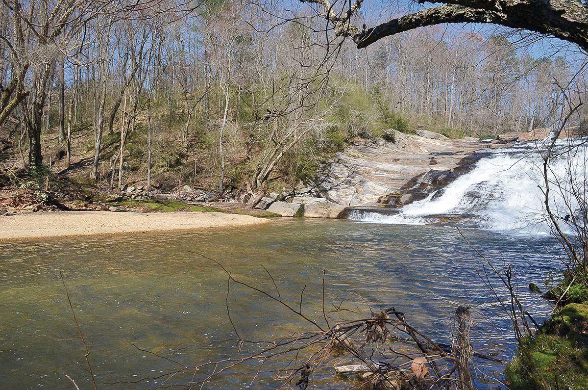 Carter Falls bridge site