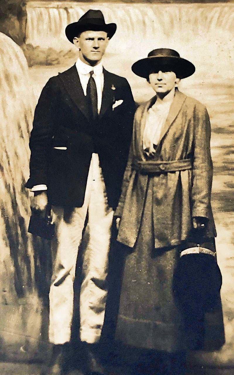 O.V. Caudill and Rachel Caudill
