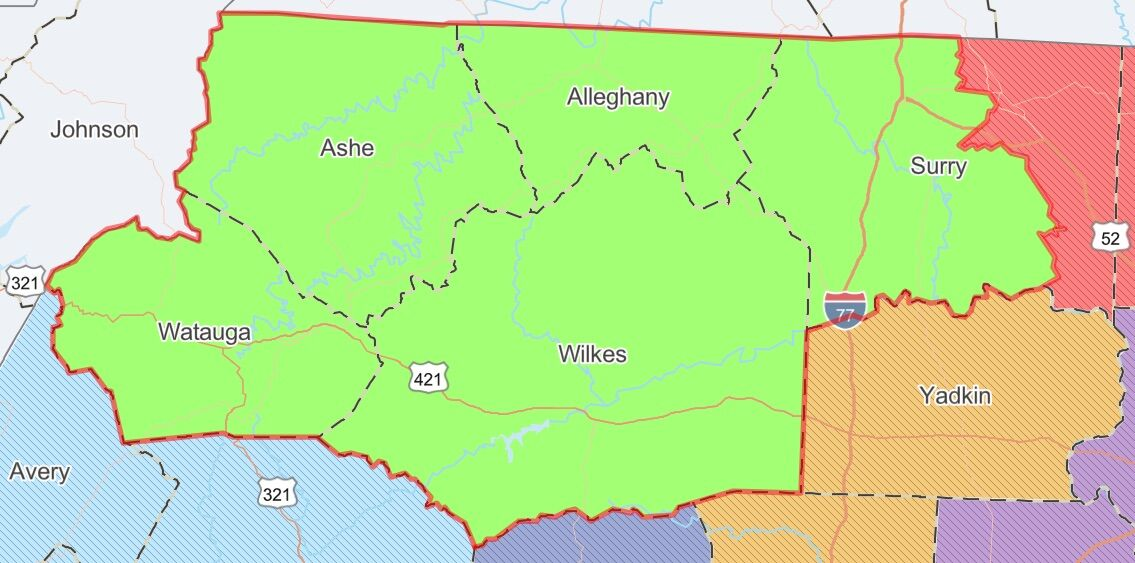 45th District of N.C. Senate
