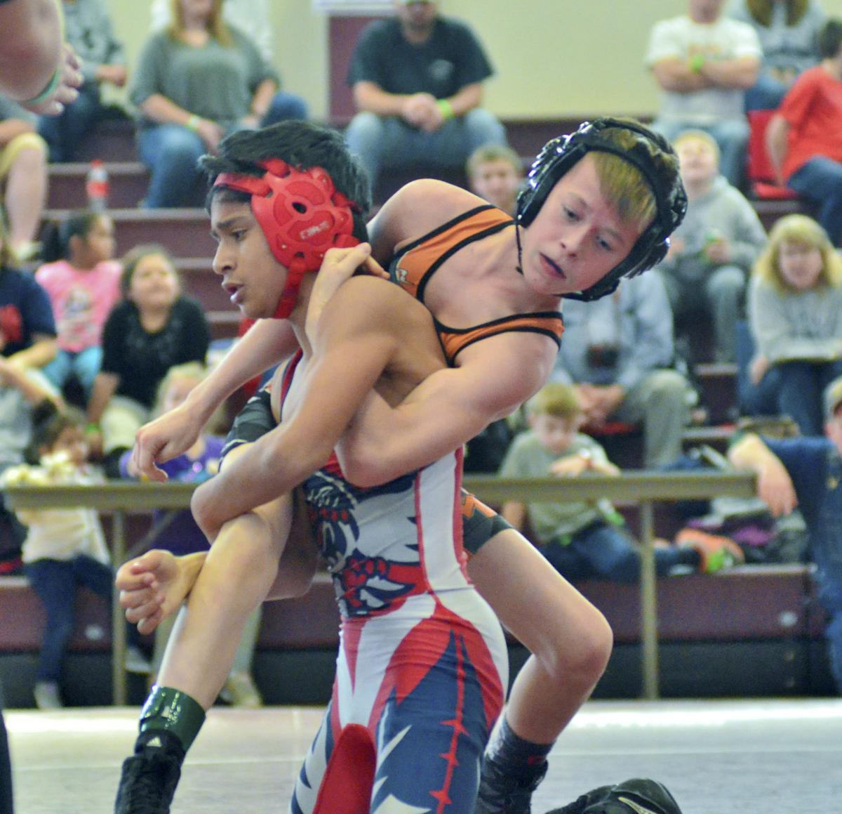 Wilkes County Wrestlers Shine In Brac Tournament Sports