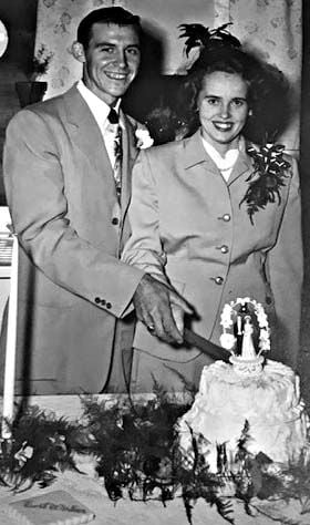 70 YEARS AGO...CLIFFORD AND RAMONA JORDAN