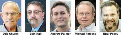 North Wilkesboro board candidates