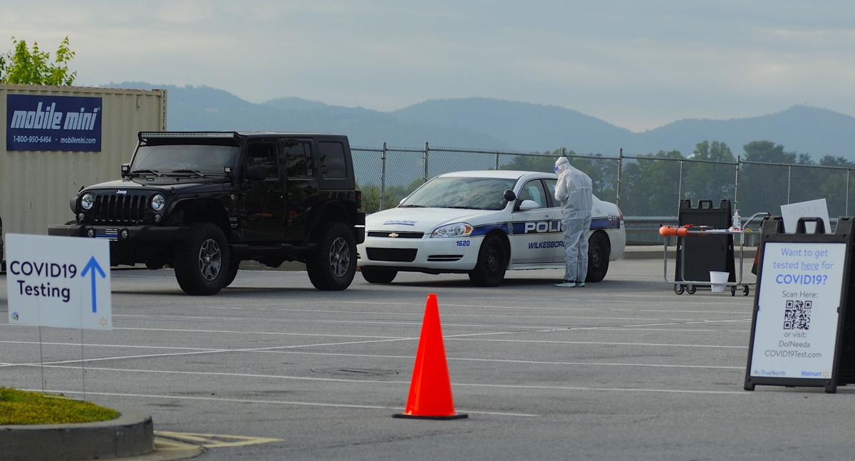 Drive-through testing