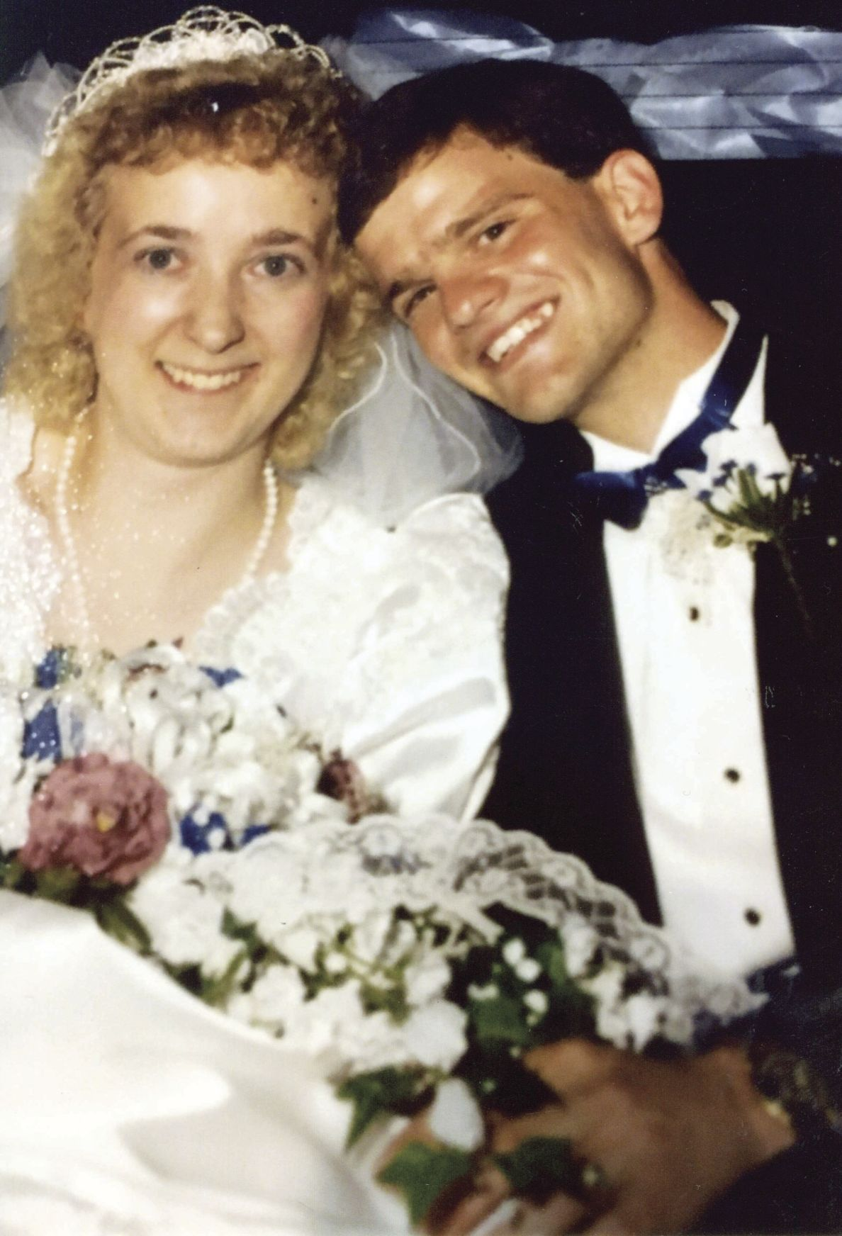 GARY AND MONICA BREWER 25 YEARS AGO...