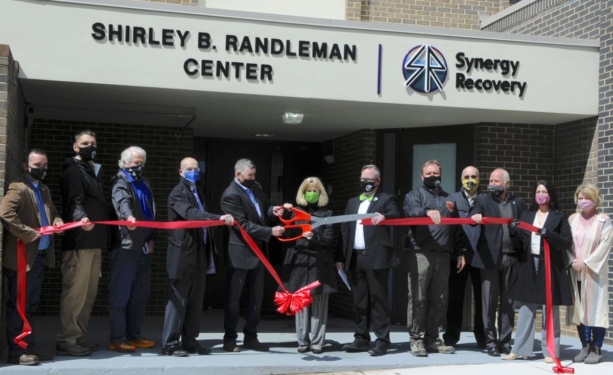 Ribbon cutting for expanded, renovated facility