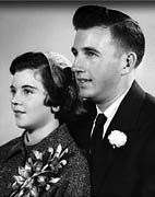 61 years ago...... GERALD AND CLARA SOMERS