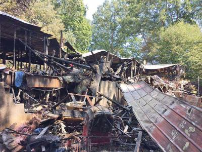 Teen firefighter helps battle blaze, but home lost Friday