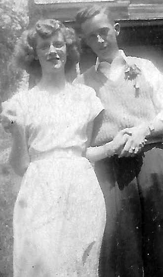 70 YEARS AGO... BURL AND LOUISE BUMGARNER