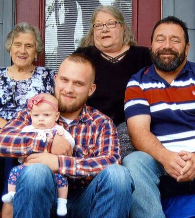 FIVE GENERATIONS OF THE ELLEDGE FAMILY