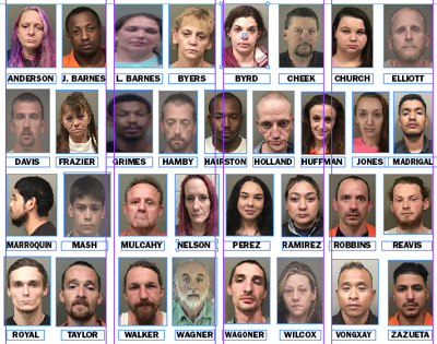 Charged in latest Wilkes Sheriff's Office drug cases