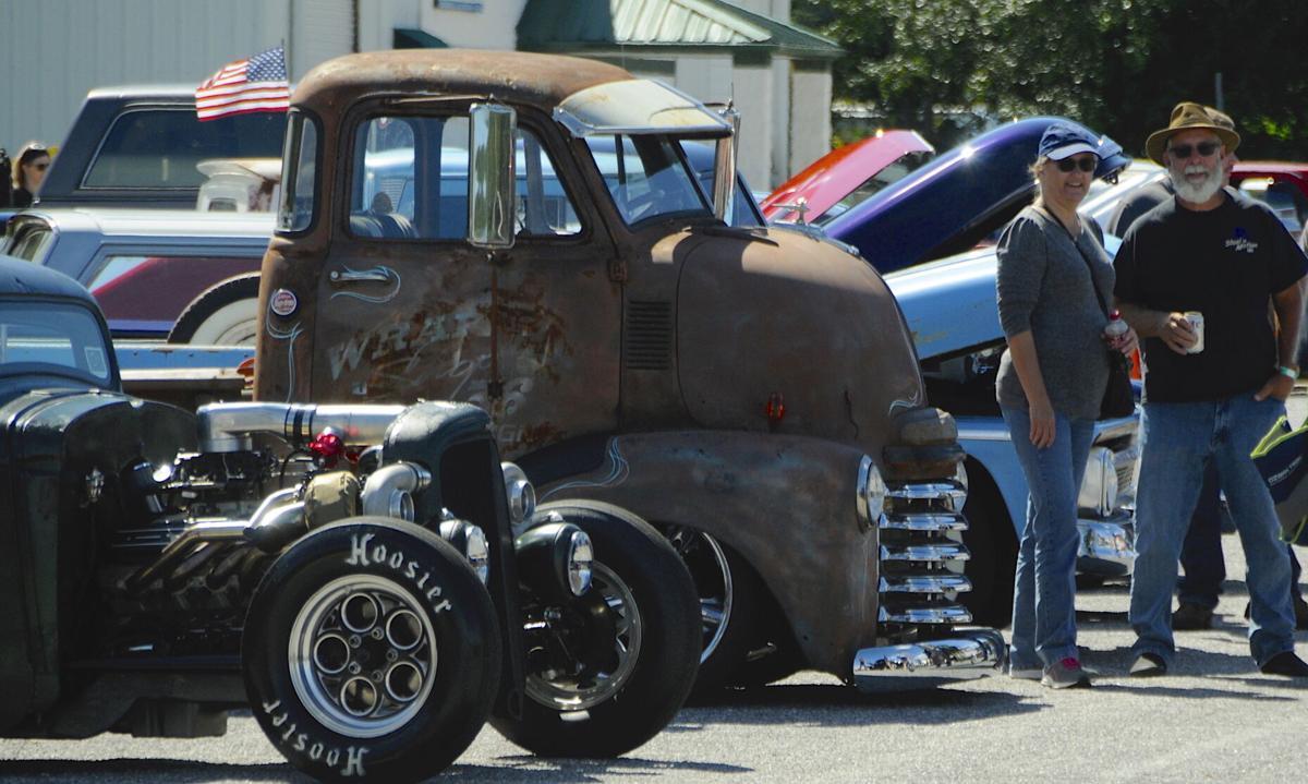 Variety of vintage vehicles