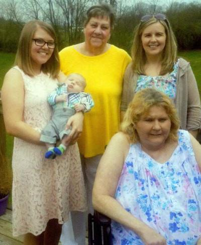 WILLIAMS FAMILY FIVE GENERATIONS