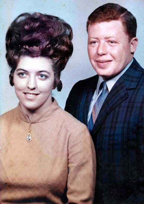 50 years ago....... TERRY AND ELLA PREVETTE