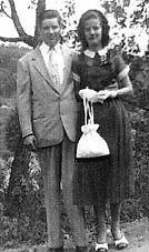 65 years ago... FREEMAN AND CLARA JEAN WAGONER