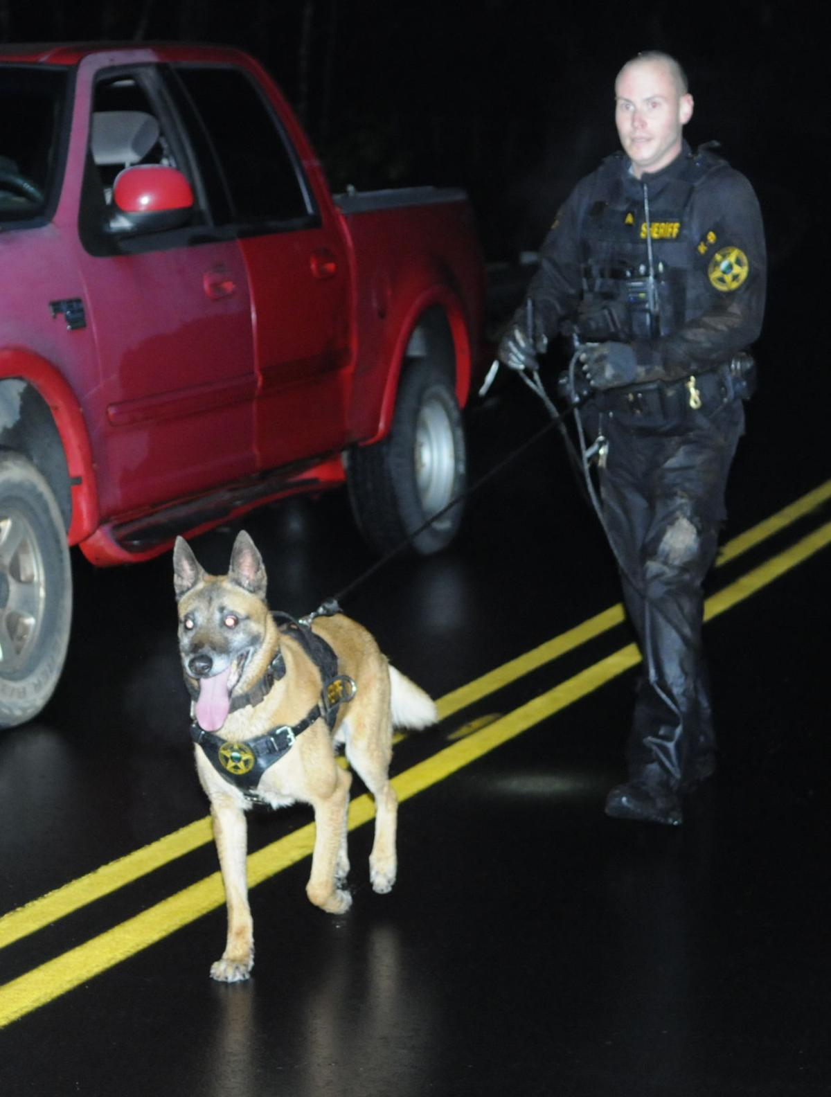 Search dog found suspect
