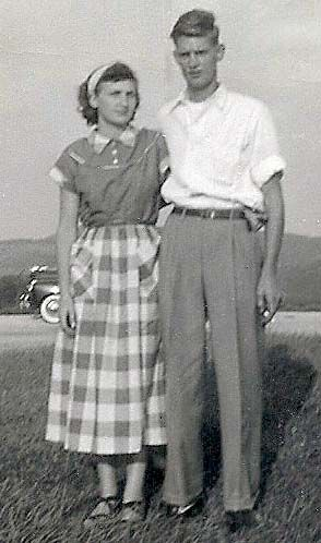 70 years ago... Gilbert and Blanche Curtis