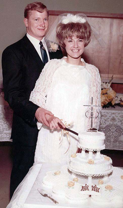 MR. AND MRS. DEAN NIELSEN 50 YEARS AGO