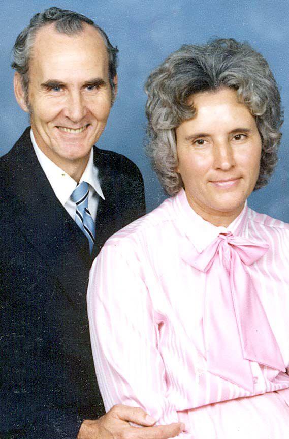 Earlier photograph…. Earnest and Juliann Johnson